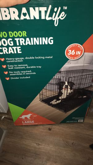 Dog cage large for Sale in Columbus, OH