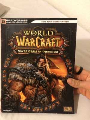 Book warlords of draenor for Sale in Anchorage, AK