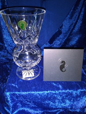 "Waterford Lismore Crystal 7 "" Thistle Vase. - Great Gift! for Sale in Wallingford, CT"