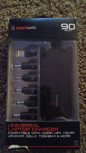 Blackweb universal laptop charger for Sale in Andover, MN