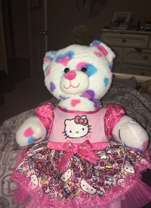 Stuffed Animals (hello kitty bear) for Sale in Temecula, CA