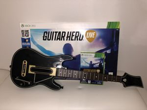 Guitar hero live Xbox 360 for Sale in Orlando, FL