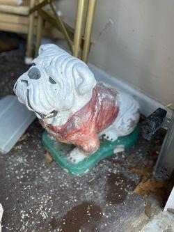 Ha Bulldog Garden Statue for Sale in Dacula,  GA
