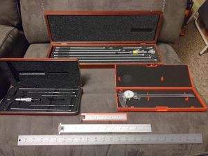 Starrett Machinist Instruments. for Sale in Ville Platte, LA