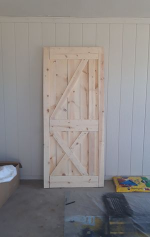 Barn wood door 84 x36 3/4 for Sale in Phoenix, AZ