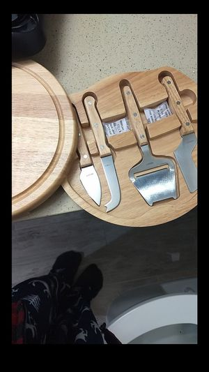 Cutting board Knife Kit.. opening Knife compartment for Sale in San Diego, CA