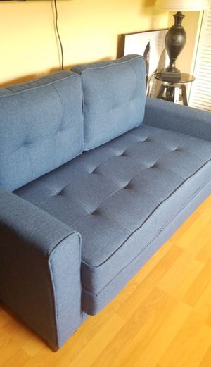 Brand new blue sleeper love seat for Sale in Margate, FL