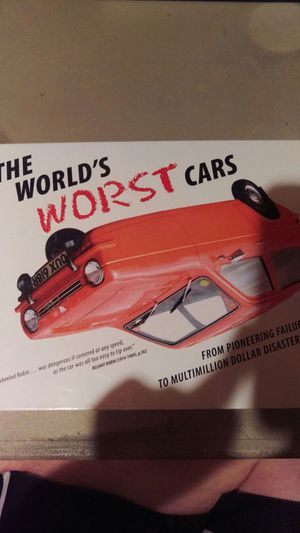 The world's worst cars book for Sale in Appleton, WI