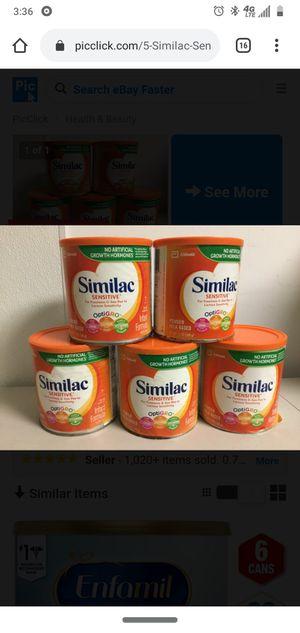 Similac sensitive for Sale in Covington, WA