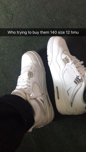 Air Jordan 4 pure money size 12 for Sale in Columbus, OH