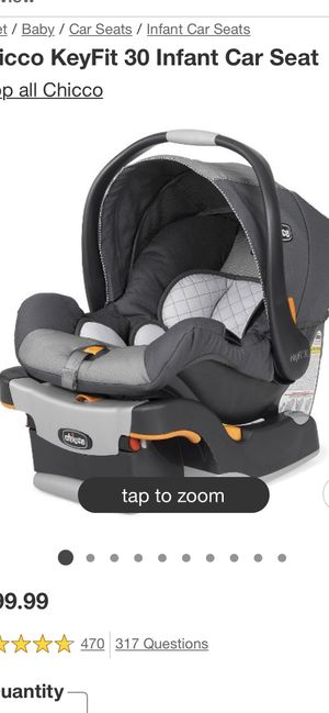 Chicco 360 key fit infant car seat and base for Sale in Eugene, OR