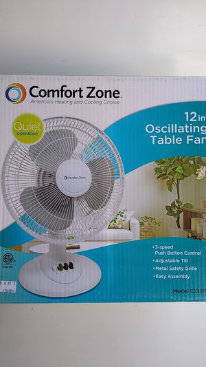 "12"" OSCILATING TABLE FAN. for Sale in City of Industry, CA"