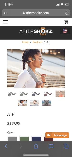Aftershokz Wireless Headset for Sale in San Diego, CA