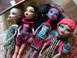 Monster high dolls barbie toy Draculaura for Sale in City of Industry, CA