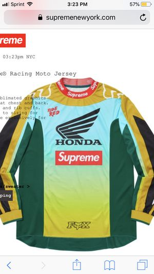 Supreme Moto Jersey for Sale in Grove City, OH