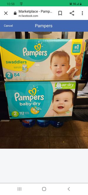 Pampers for Sale in Glendale, AZ