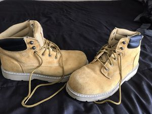 Boots Bramma Steel Toe Size 13 for Sale in Tomball, TX