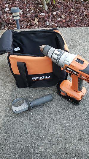 Rigid 18v drill for Sale in La Grange, KY