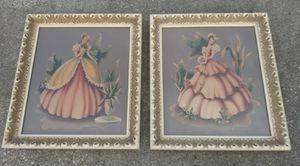 "Vintage Turner Art Prints. **30.00 Firm** Victorian Women 17.5"" x 15.5"" Each Framed Home Decor for Sale in Orlando, FL"