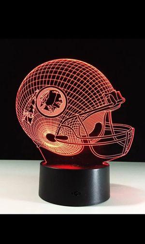 Washington Redskins NFL Night Light Lamp for Sale in West Berlin, NJ