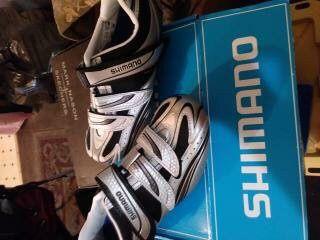 Road bike shoes size 8