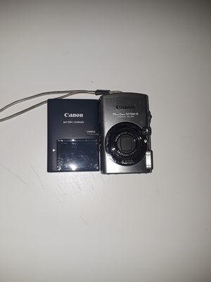 Canon/camara/power shot sd700 is/digital elph/6.0 mega pixels/canon zoom lens 4x is/ 5.8-23.2mm/ 1:2.8-5.5 for Sale in North Las Vegas, NV