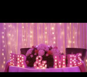 Pink wedding mr and mrs for Sale in Rockville, MD