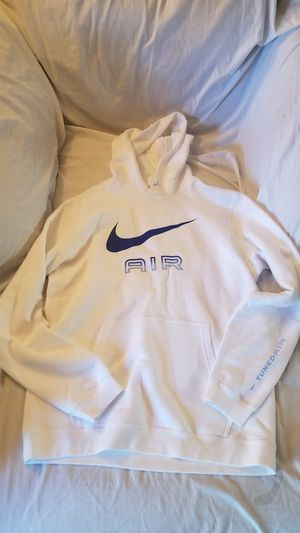 Nike Air Max Hoodie Sz Large White/Blue Logo Brand New for Sale in San Diego, CA