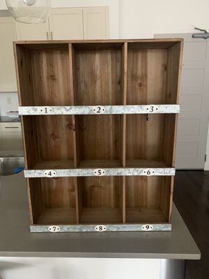 Industrial Wall Organizer for Mail for Sale in Atlanta, GA