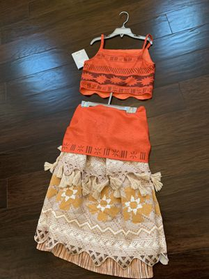 NTW— Moana Costume - Girl's size for Sale in Rancho Cucamonga, CA