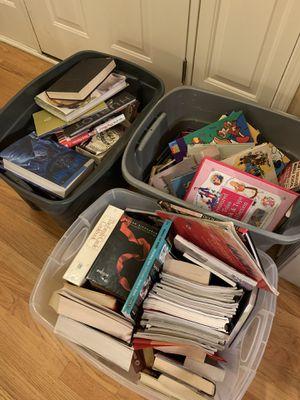 Bins of books for Sale in Naperville, IL