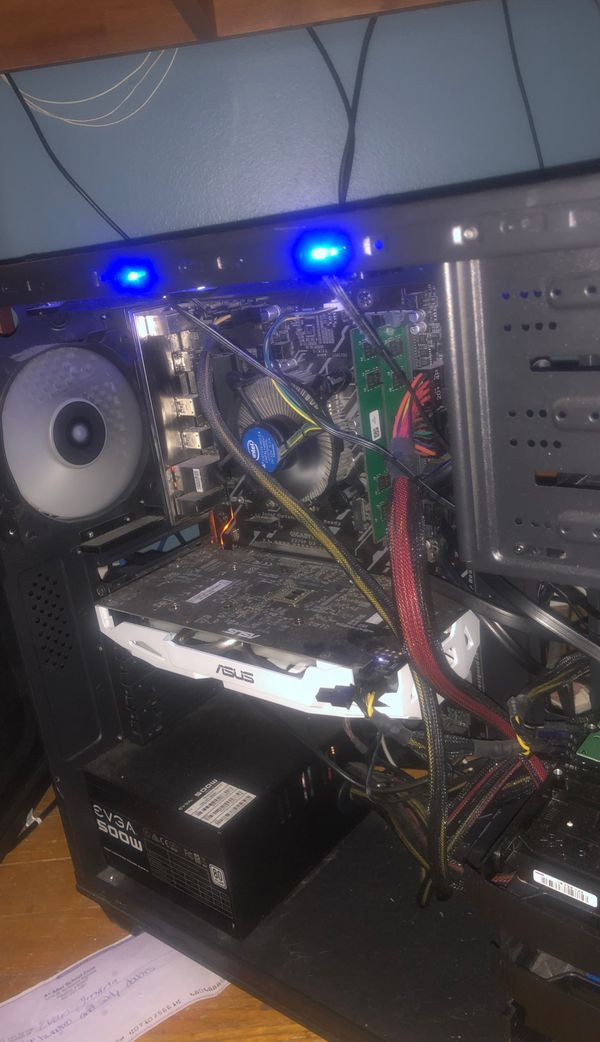 Computer without storage, specs shown in image, message any questions