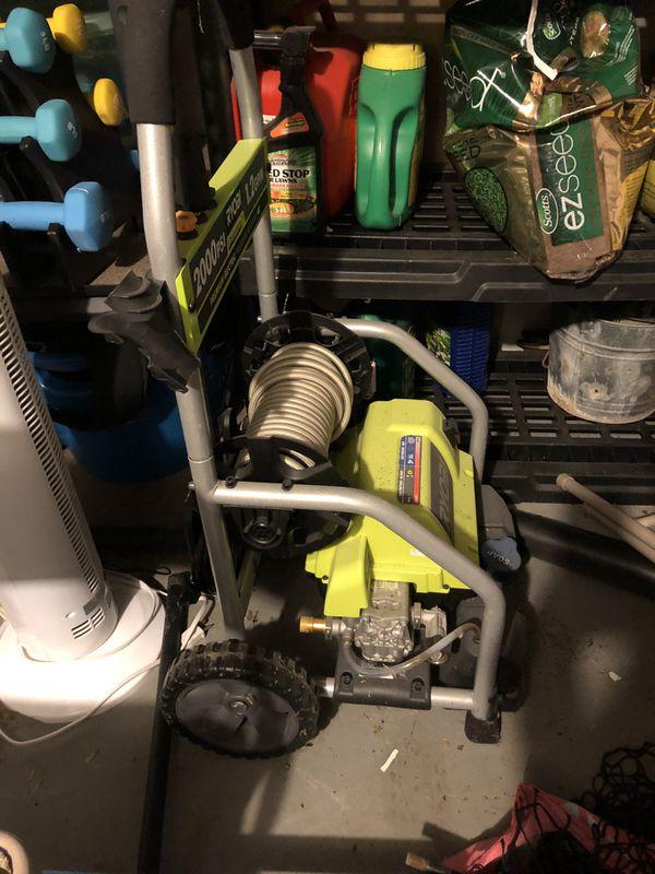 Ryobi 3000 Electric Pressure Washer