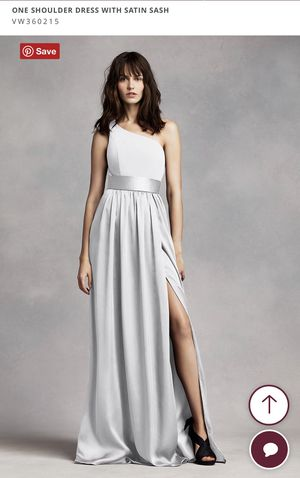 Plus Size Bridesmaid Dress: WHITE by Vera Wang for Sale in Des Plaines, IL