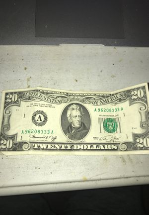 1974 $20 Federal Reserve Note for Sale in Miami, FL
