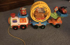 VTech Roll and spin pet train with 2 cars for Sale in Albany, NY