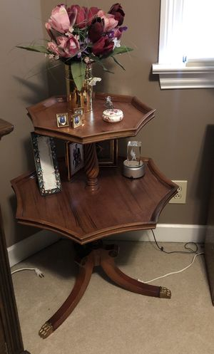 Antique 2 tier table for Sale in Smyrna, TN