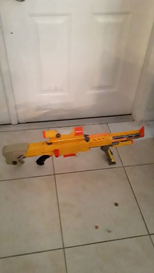 Nerf guns 2 LongShot CS-6 with extra parts included for Sale in Port St. Lucie, FL