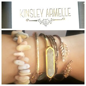 Kingsley Armelle - authentic bracelets. May be purchsed individually for Sale in Oak Hill, VA