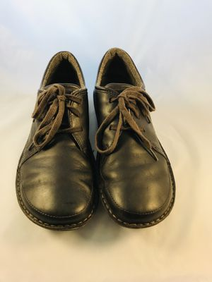 Patagonia Loulu Leather Shoes US Mens Size 12 Velvet Brown Casual Shoes for Sale in San Antonio, TX