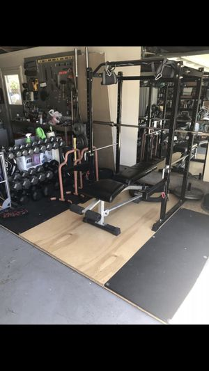 Exercise Equipment, Gym, Dumbbells, Squat Rack for Sale in San Ramon, CA