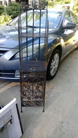Metal wine rack for Sale in Brentwood, NC