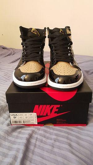 Jordan 1 gold toes for Sale in Fairfax, VA