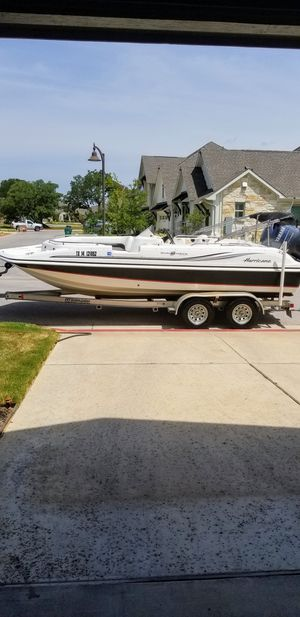 Hurricane Sun Deck Sport 201 for Sale in Leander, TX