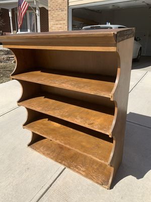 Wooden bookshelf for Sale in Aurora, CO