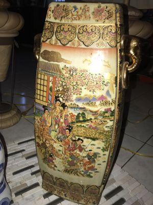 Chinese Oriental Vase (20inches) for Sale in Manassas, VA