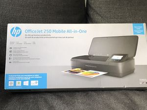 hp. Office Jet 250 Mobile All-in-One for Sale in Newton, MA