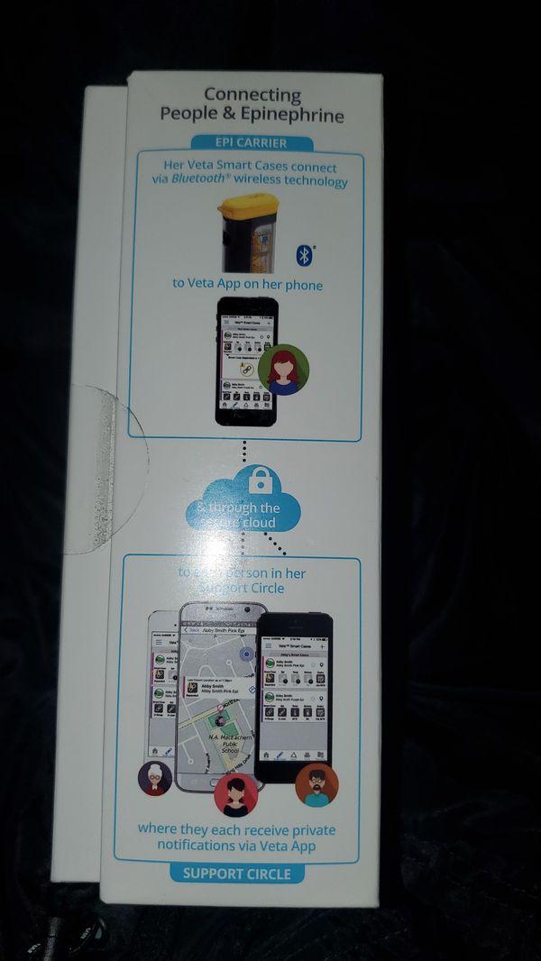 Veta Epi Pen Smart Case and App
