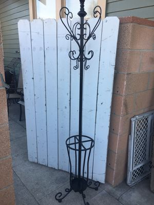 Victorianlike Rotating Coatrack and Umbrella Stand for Sale in Pomona, CA