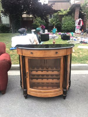 Antique piece/ Howard Miller wine bar furniture! for Sale in Atherton, CA